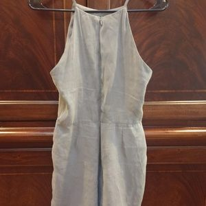 Sienna Sky Grey Dress w/ Back Zip